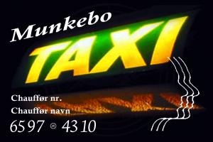 Chaufførkort Munkebo Taxi vandmærke© MT - Sikker kørsel i hele Danmark https://www.munkebotaxi.dk